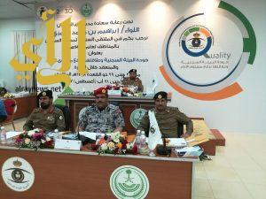إدارات الشرطة العسكرية التابعة للسجون تستعرض نجاحاتها بإجتماع مديري السجون