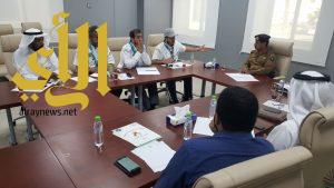 إجتماع فريق تنسيق التطوع بالحج في مكة
