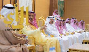 أمير الباحة يستقبل منسوبي الإمارة المهنئيين بعيد الأضحى المبارك