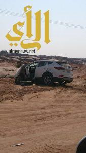 مصرع ثمانية أشخاص وإصابة آخرين بحادث مروري على طريق صمخ – خيبر الجنوب