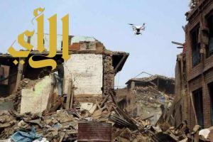 """المنظمة العربية للهلال الاحمر والصليب الاحمر تستعرض تجربة """"طائرة بدون طيار"""" الخاصة بالكوارث"""