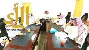 اجتماع لعمداء كليات جامعة الأمير سطام بن عبدالعزيز بوادي الدواسر والسليل