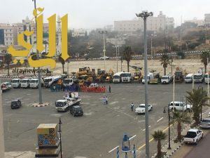 بلدية النماص تستعد لإستقبال موسم الأمطار بكامل الجاهزية