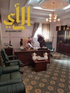 مدير الشؤون الإسلامية بعسير يتفقد فرع الوزارة بمحافظة أحد رفيدة