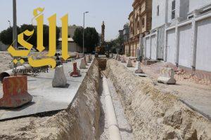 بلدية الخبر تستكمل مشاريع تصريف مياه الأمطار بأحياء المدينة
