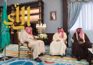 أمير الباحة يستقبل مدير إدارة مكافحة المخدرات بالمنطقة المعين حديثاً