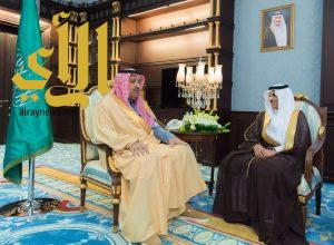 أمير الباحة يستقبل مدير فرع وزارة النقل بالمنطقة