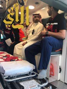 مدير الهلال الأحمر بعسير يتفقد مراكز الإسعاف بقطاع تهامة