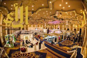 """انطلاق فعاليات """" المعرض السعودي الدولي التاسع عشر للأعراس """" بجدة"""