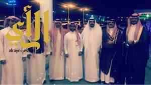 الشيخ علي الدويهي يحتفل بزواج ابنه الملازم أول عبدالعزيز الزهراني