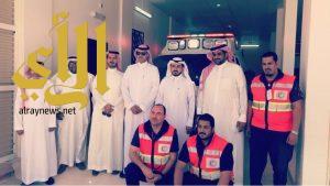 هيئة الهلال الأحمر السعودي تفتتح ثلاث مراكز اسعافية بمدينة الرياض
