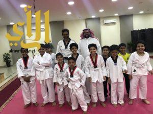 مركز حي المنتزهات يدشن اكاديمية التايكوندو بمحافظة جدة
