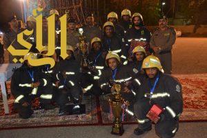 مدني جدة يختتم بطولة تحدي رجل الدفاع المدني