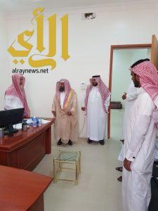 """""""العماري"""" يتفقد إدارة المساجد بمحافظة تثليث"""
