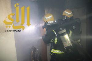 مدني العاصمة المقدسة يخمد حريق اندلع في فندق بحي أجياد