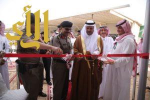 محافظ الزلفي ومدير شرطة ومرور منطقة الرياض يدشنون مبنى شعبة المروربعد التحسينات الجديدة