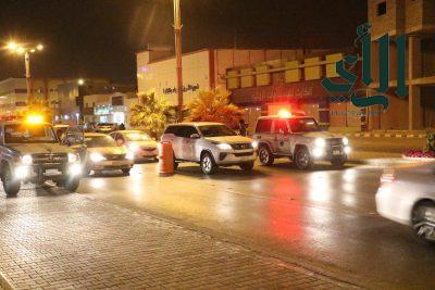 مرور الخرج يشن حملة مرورية بشوارع المحافظة