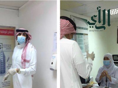 محافظ محافظة المخواة يقوم بجولة تفقدية لمستشفى المخواة العام