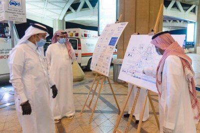"""""""الجاسر"""" يتفقد مطار الملك خالد استعدادًا لاستقبال المواطنين الراغبين في العودة من الخارج"""