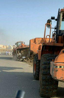 بلدية خميس مشيط تزيل تعديات على مساحة 2000 م2 خلال الأسبوع الماضي