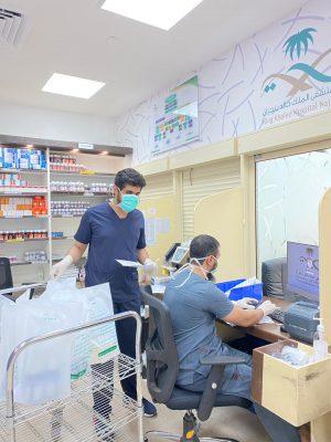 أكثر من 8 آلاف مستفيد من خدمة إيصال الأدوية للمرضى في منازلهم بنجران