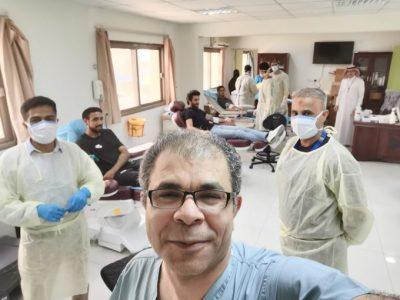حملة للتبرع بالدم بمستشفى القطيف