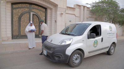 البريد السعودي يسلم 350 ألف مادة بريدية للمستفيدين منذ تطبيق الإجراءات الوقائية