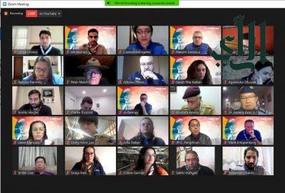 قادة كشافة المملكة يشاركون في الاحتفائية الافتراضية بـيوم مؤسس الحركة الكشفية