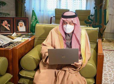 """#أمير_الرياض يدشن فعالية """"المشي صحة"""""""