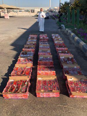 ضبط ١٦٠ كيلو من فاكهة الفراولة الفاسد في سوق الخضار الفواكه المركزي بـ #الدمام