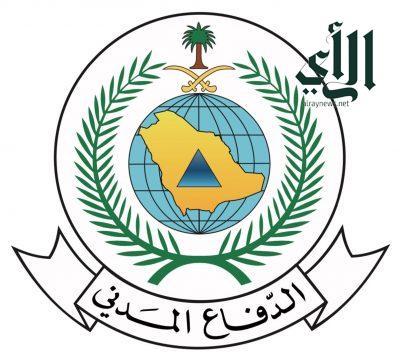 فرق الدفاع المدني بالرياض تباشر حادثة سقوط شظايا صاروخ باليستي أطلقته الميليشيا الحوثية