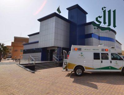 تدخل طبي طارئ في مركز القلب بـ #عرعر لإنقاذ حياة مريض تعرض لصدمة قلبية