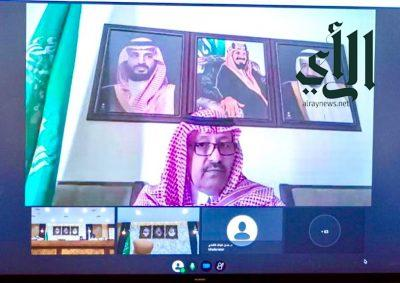 """#الأمير_الدكتور_حسام_بن_سعود بن يدشن لقاء """" التنمية المستدامة في منطقة #الباحة """""""
