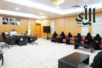 في يوم تمكين المرأة: #تعليم_صبيا يختتم البرنامج التدريبي العام لمشروع (واعد للقيادات الإدارية)