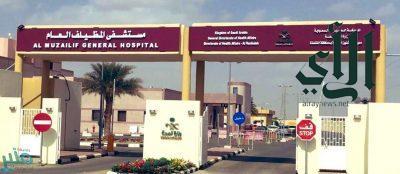 جراحة ناجحة لمصاب بجروح متعددة في البطن والصدر بمستشفى #المظيلف العام