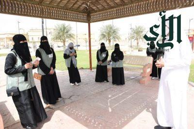 الكلية التقنية للبنات بـ #الأحساء تشارك ضمن حملات تشجير المحافظة