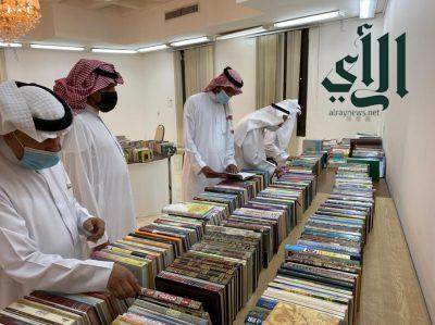 """أدبي #الرياض يفتتح معرض الكتاب الخيري الـ """"14″"""