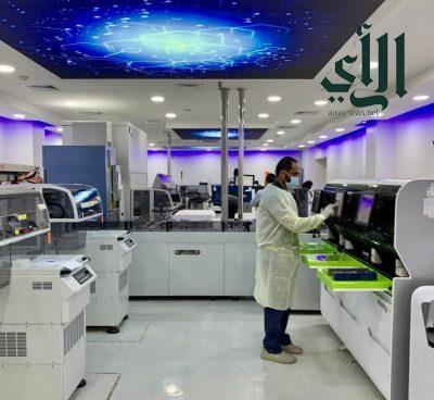 بدء تشغيل الجيل الجديد من أجهزة الكيمياء الحيوية السريرية و الهرمون للمختبر الرئيس بمستشفى شرق #جدة