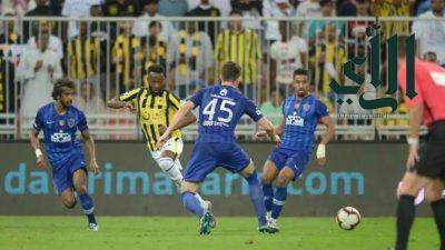 """كلاسيكو"""" مثير بين الهلال و الاتحاد في قمة مواجهات المرحلة الـ 25 من دوري كأس محمد بن سلمان للمحترفين"""