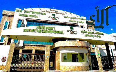 نجاح زراعة حالبين بالمنظار لطفل بمستشفى #خميس_مشيط للولادة والأطفال