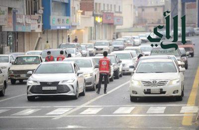 #الهلال_الاحمر بمنطقة #الباحة ينفذ فعالية إفطار صائم