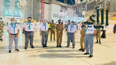مُدير الأمن العام يشيد بدور قادة كشافة #تعليم_مكة_المكرمة الريادي في خدمة المعتمرين