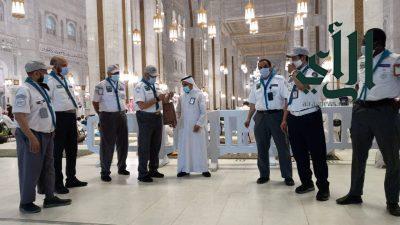 قادة كشافة تعليم مكة المكرمة يقدمون 9000 ساعة تطوعية في خدمة ضيوف الرحمن بالمسجد الحرام