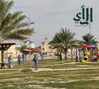 بلدية #قرية_العليا تنتهي من كافة تجهيزاتها لاستقبال #عيد_الفطر المبارك