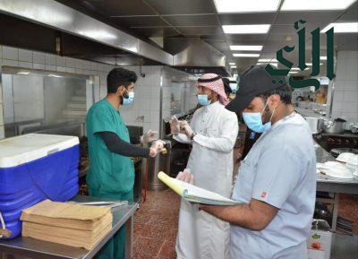 رئيس بلدية خميس مشيط :  2147 جولة في اسبوع واغلاق 74 منشأة واتلاف 1217 كجم من المواد الغذائية الفاسدة