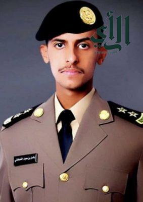 """""""باسل آل عادي"""" يحتفل بتخرجه من الكلية الأمنية برتبة ملازم أول"""