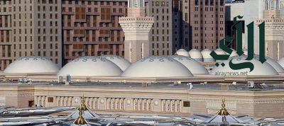 قباب المسجد النبوي عمارة إسلامية حديثة تجذب قاصديه