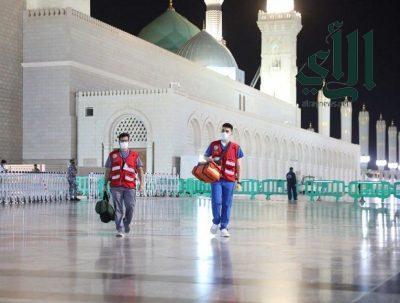 رئاسة #المسجد_النبوي تؤكد جاهزيتها لليلة 27 من شهر رمضان المبارك
