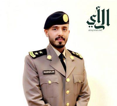 المهندس طارق آل عواض يحتفل بتخرجه من الكلية الأمنية برتبة ملازم أول