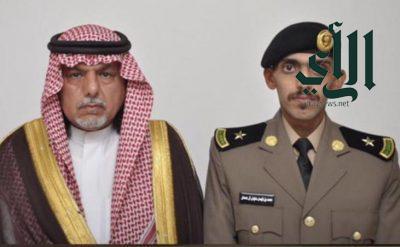 """""""آل جمعان"""" يحتفل بتخرجه من الكلية الأمنية برتبة ملازم"""